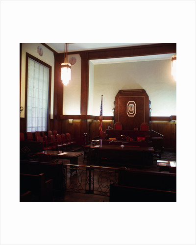 Empty Courthouse by Corbis