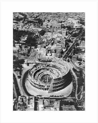 The Colosseum in Rome by Corbis