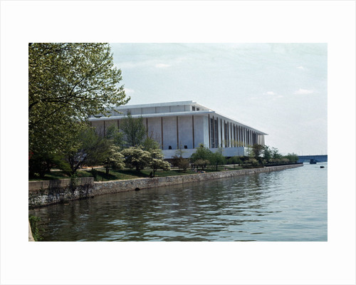 Exterior View of John F. Kennedy Center for tne Performing Arts by Corbis