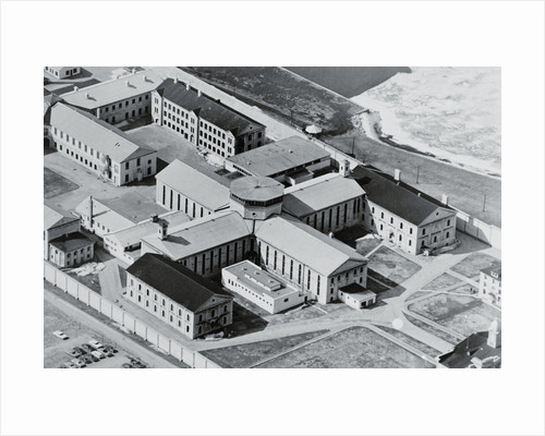 Aerial View of Penitentiary by Corbis