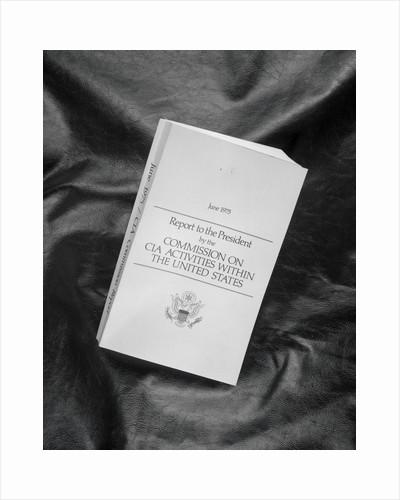 Book of C.I.A Activities by Corbis
