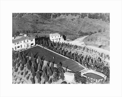 Overview of Large House and Grounds by Corbis
