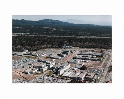 Aerial View of Los Alamos Scientific Laboratory by Corbis