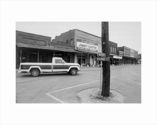 Street in Jimmy Carter's Hometown of Plains by Corbis