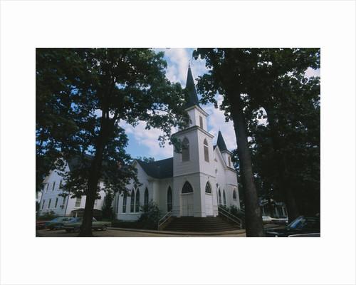 Plains Baptist Church by Corbis