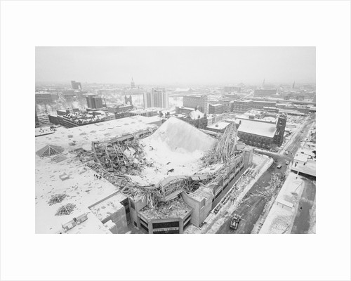 Aerial View of Hartford Sports Civic Center by Corbis