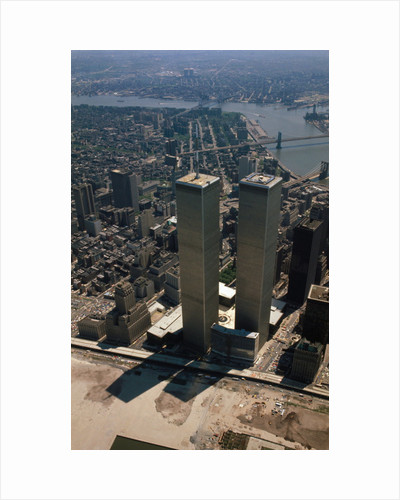 New York's World Trade Center by Corbis