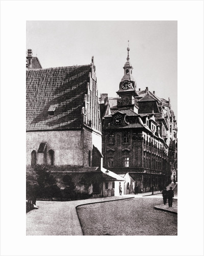 Old--New Synagogue by Corbis