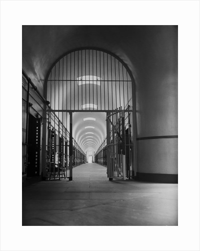 Interior View of Penitentiary by Corbis