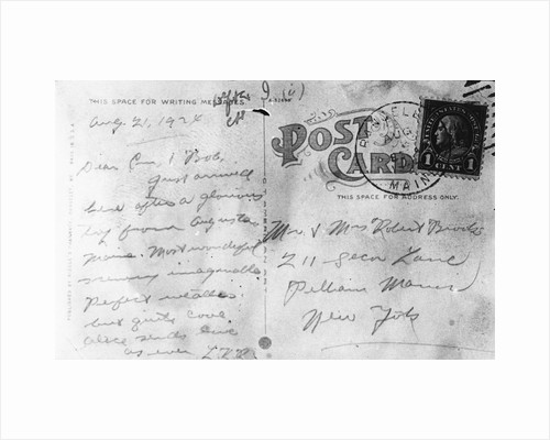 Postal Letter as Crime Evidence by Corbis