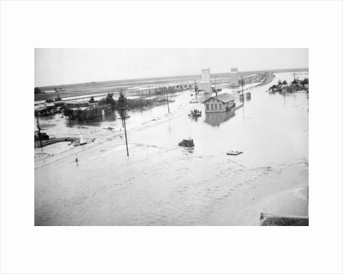 View of Flood in Texas Panhandle by Corbis