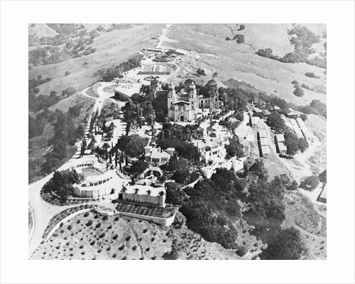 Overview of William R. Hearst's Estate by Corbis