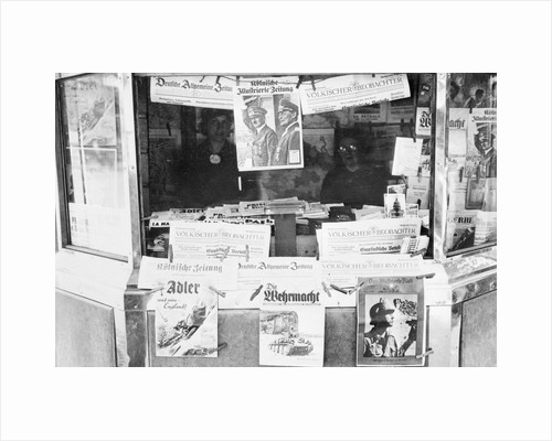 Newsstands Selling Publications by Corbis
