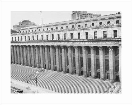 Exterior of General Post Office by Corbis