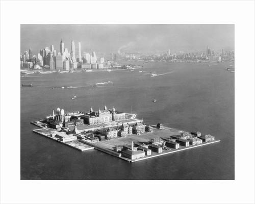 Ellis Island by Corbis