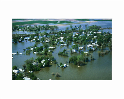 Flooded Community of Missouri by Corbis