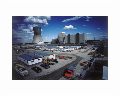 Nuclear Power Plant by Corbis