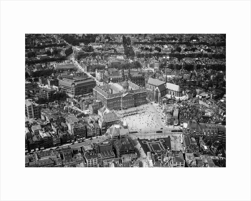 Aerial View of Amsterdam by Corbis