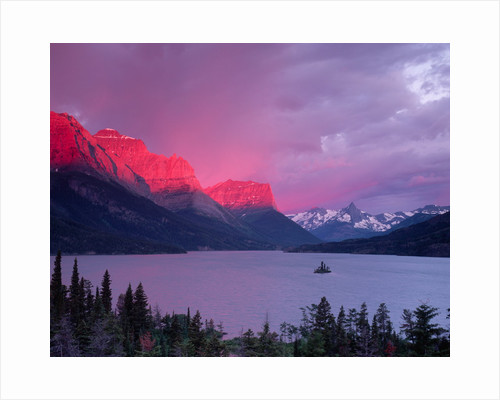 Dawn Light on the Rockies by Corbis