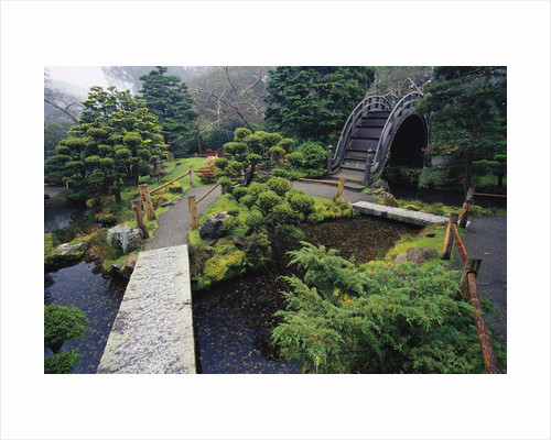 Japanese Garden by Corbis