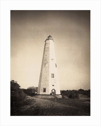 Lighthouse on Cape Fear by Corbis