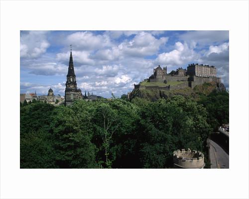 Edinburgh Castle by Corbis