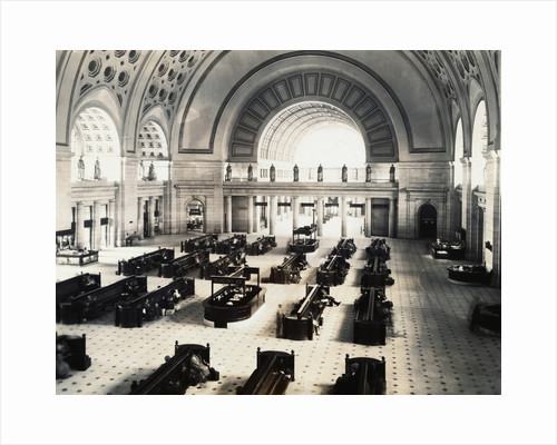Interior of Union Station by Corbis