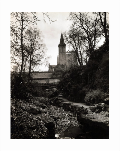 View of Historic Abbey by Corbis