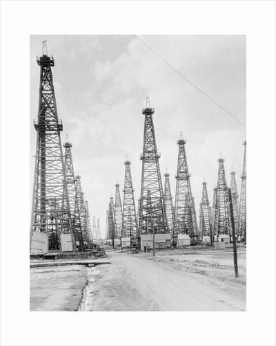 Oil Fields in Texas by Corbis
