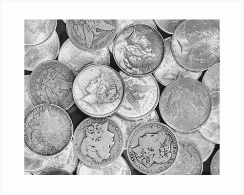 Liberty Head Silver Dollars by Corbis