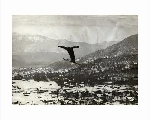 Olympic Ski Jump by Corbis