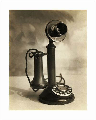 Candlestick Telephone by Corbis