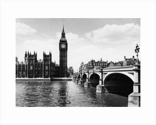 London's Big Ben by Corbis