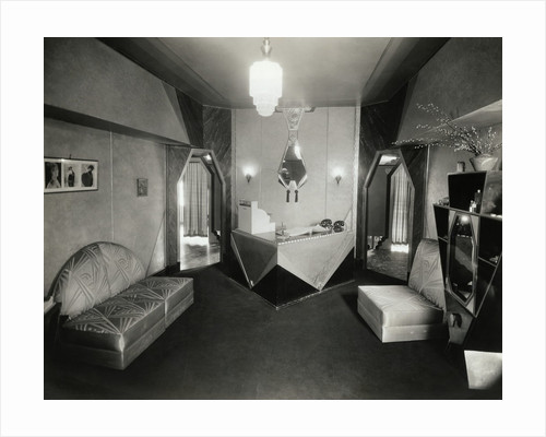 Art Deco Salon in the Jefferson Hotel by Corbis