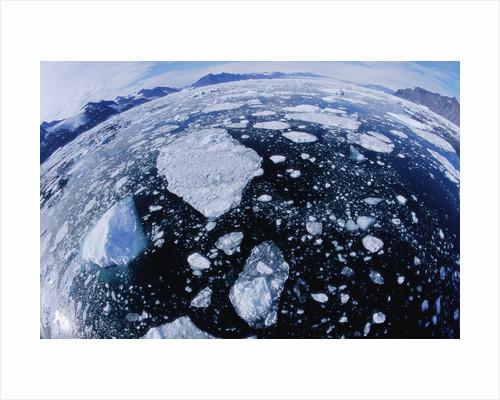 Ice in Nansen Fjord by Corbis