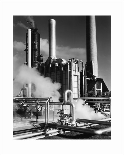 Smoke Stacks and Steam, 1951 by Corbis