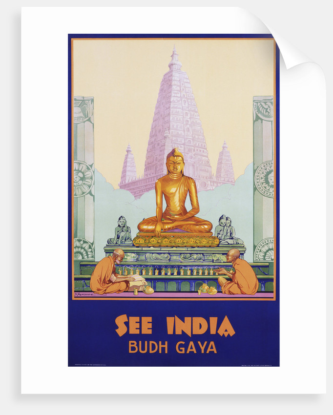 See India Poster by Dorothy Newsome