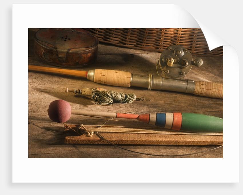 Fishing Equipment by Corbis