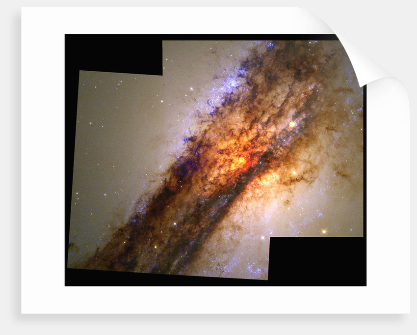 Edge of Centaurus A by Corbis