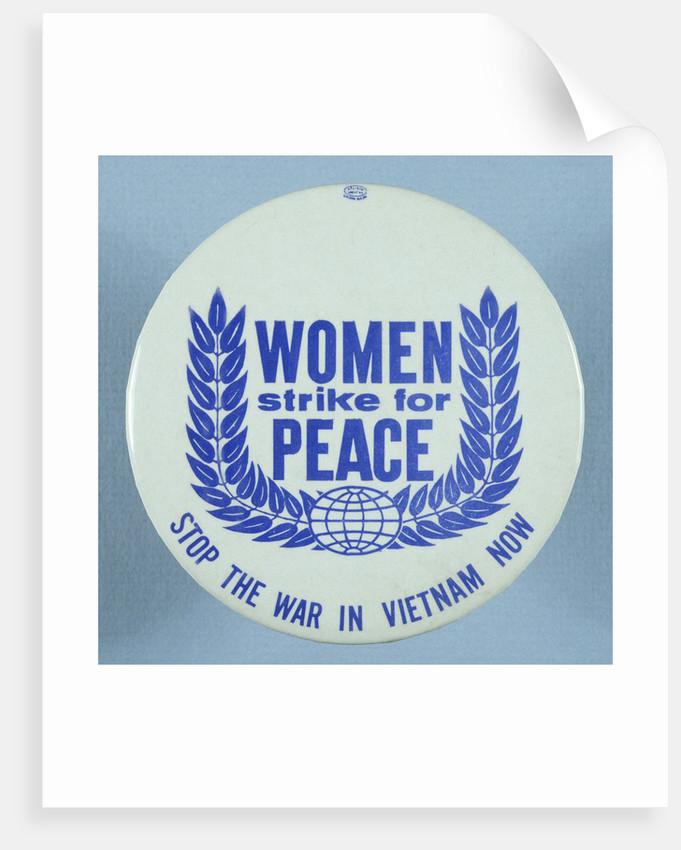 Anti-Vietnam War Button by Corbis
