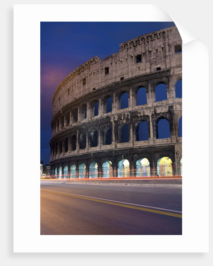 Colosseum, Rome, Italy by Corbis