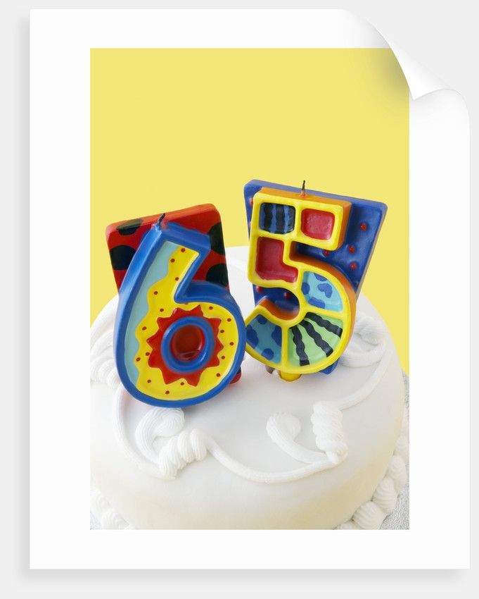 65 Birthday Cake Decorations By Corbis