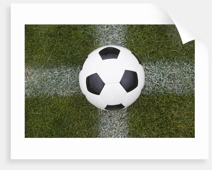 Soccer Ball by Corbis