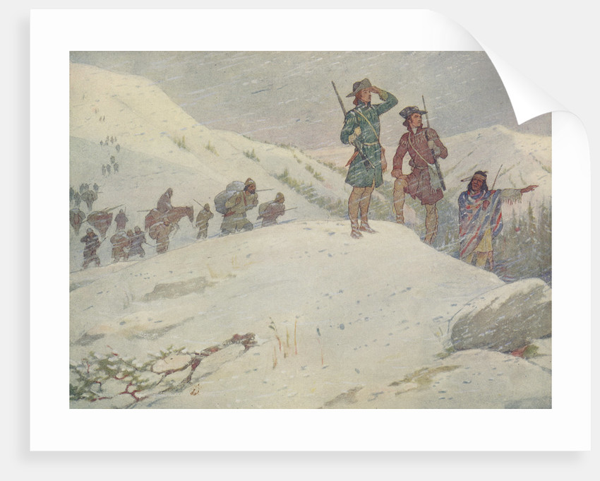 Book Illustration of Lewis and Clark by E. Boyd Smith