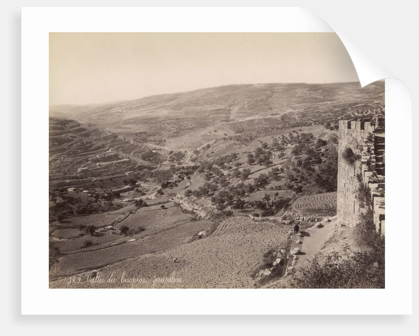 European Valley, Jerusalem by Corbis