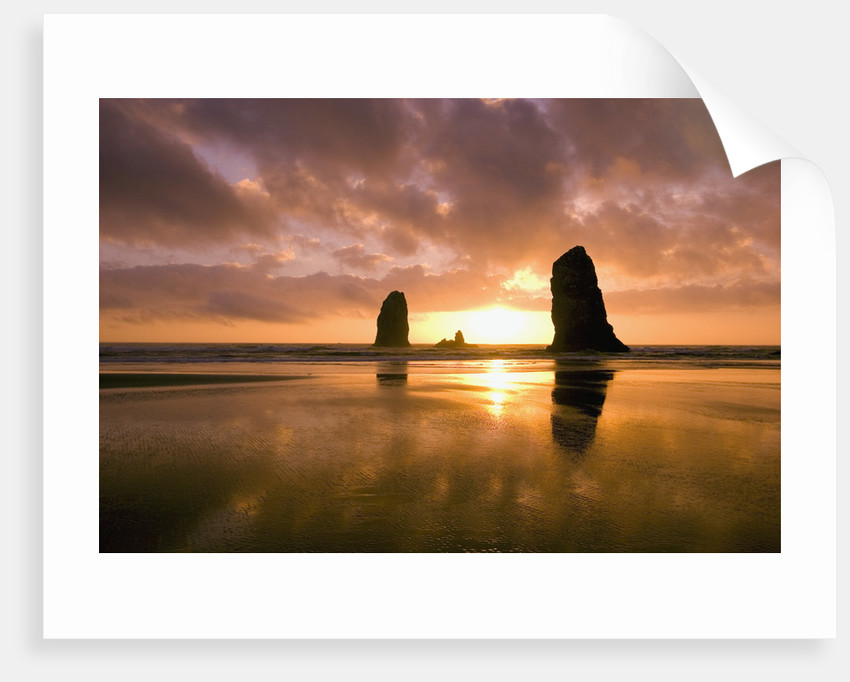 The Needles At Cannon Beach By Corbis