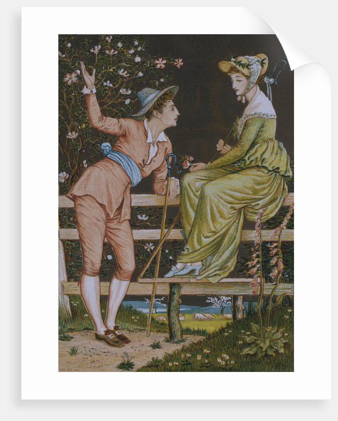 Come Be My Love by Walter Crane