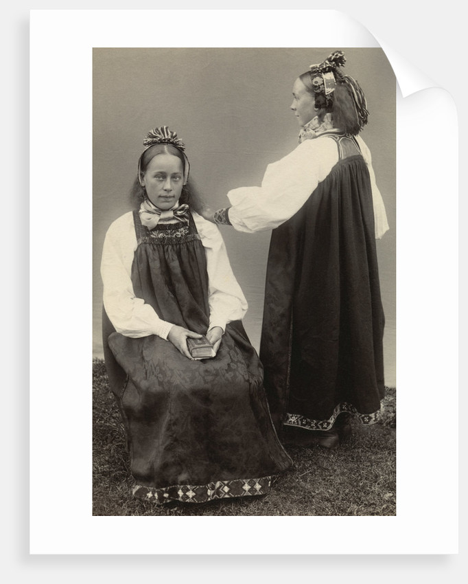 Two Dutch Girls by Corbis