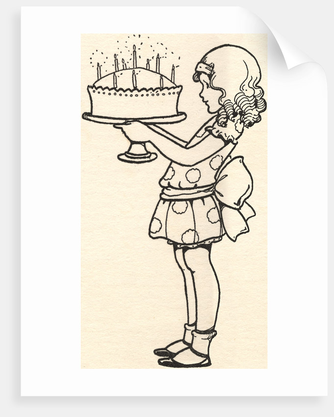 Because I Am Ten Years Old Illustration by Corbis