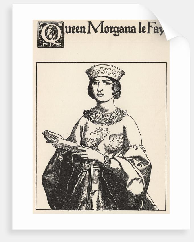 Queen Morgana Le Fay by Howard Pyle